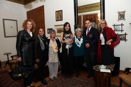 Hekimbaşı Salih Efendi Yalısı Konserinin Ardından Zerhan Gökpınar ve Nişantaşı Rotary Kulübü