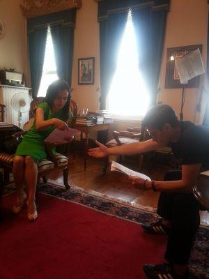 TRT Çekimlere Hazırlık Teyfur Erdoğdu ile