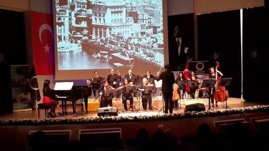 YTÜ Sanat Sempozyumu Açılış Konseri-Sesler Hazinesi Orkestrası ile