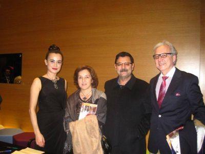 Zorlu PSM Konser ArdındanZorlu PSM Konser Ardından Prof. Dr. Haluk Oral, Niyazi Ölmez